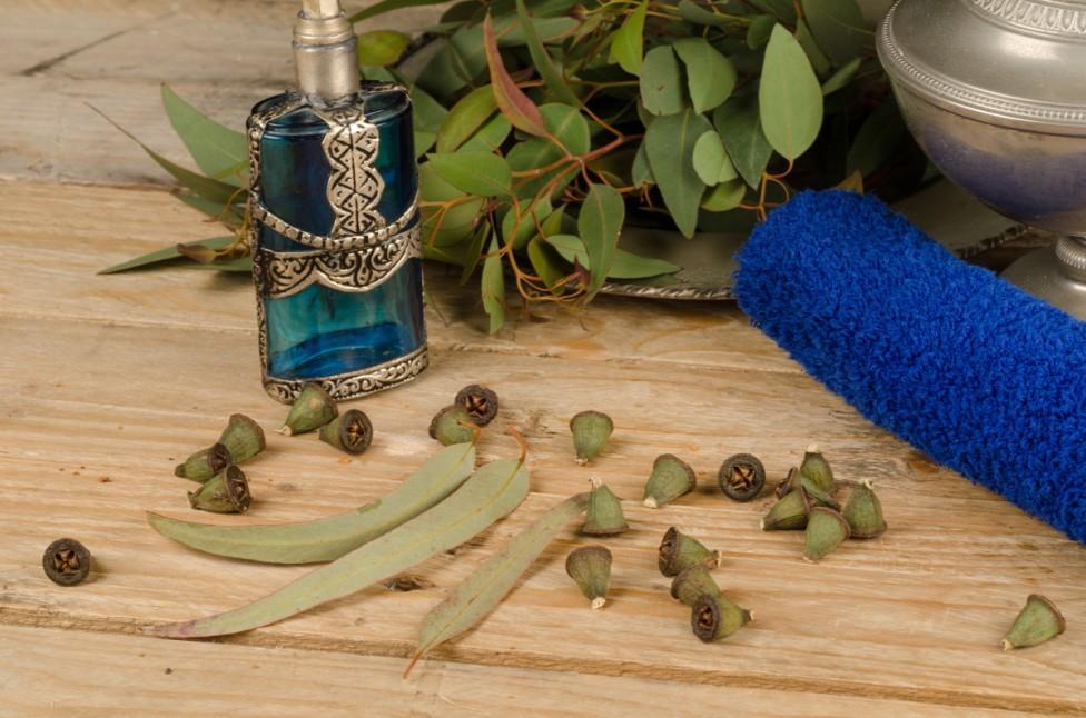 eukaliptusowy olejek